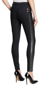 Genetic Denim Phoneix Faux Leather Skinny Jeans