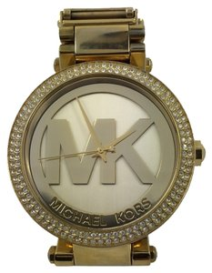 Michael Kors Michael Kors Authentic Wome's Watch Parker Gold Stainless Steel
