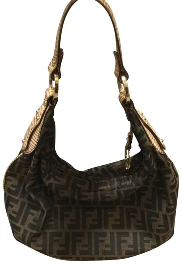 Preload https://img-static.tradesy.com/item/11640979/fendi-zucca-print-brownblack-hobo-chef-with-dust-black-and-brown-canvas-leather-satchel-0-2-540-540.jpg