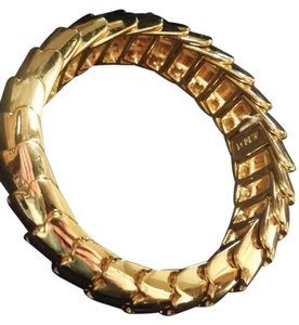 J.Crew Jcrew gold stretchy. Snake scale bracelet