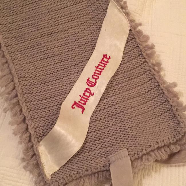 Juicy Couture Gray Scarf/Wrap Juicy Couture Gray Scarf/Wrap Image 4