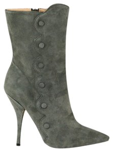 Betsey Johnson Grey Boots