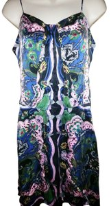 Dress by Gala short dress Blue/Multi Floral on Tradesy