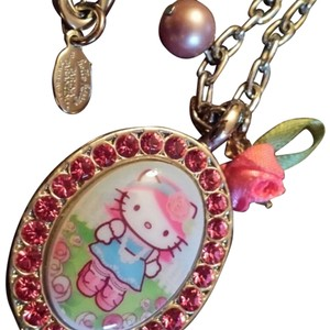 Tarina Tarantino Tarina Tarantino Hello Kitty Swarovski Necklace