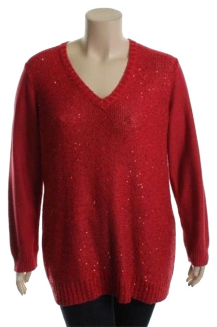 Preload https://img-static.tradesy.com/item/1164304/charter-club-red-zone-sequin-neck-sweaterpullover-size-20-plus-1x-0-0-650-650.jpg