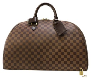 Louis Vuitton Ribera Gm Damier Ebene Duffel Luggage Travel Browns Travel Bag