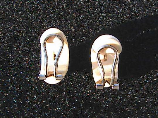 Other Vintage 585 Celluloid Clip On Earrings Image 4