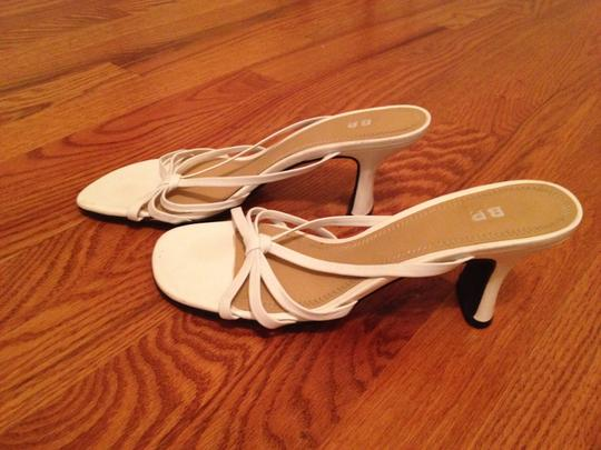 BP. Clothing White Sandals