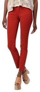 BDG Rust Ankle Cropped Skinny Jeans