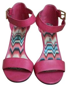 American Eagle Outfitters Pink Wedges
