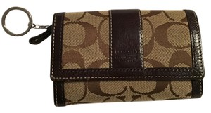 Coach Coach Monogram Small Wallet