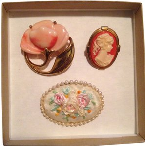 Other Vintage Broach Lot Of 3