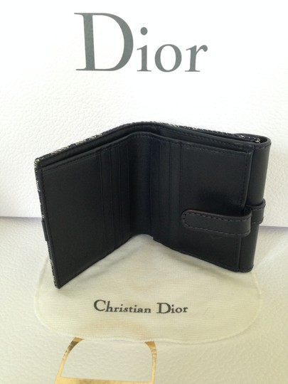 Dior NEW Dior monogram logo wallet