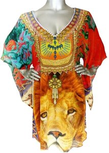 Victoria Luxury Silk 100% Kasftan Tunic