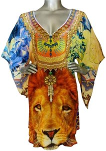 Victoria Luxury Silk 100% Kaftan Tunic