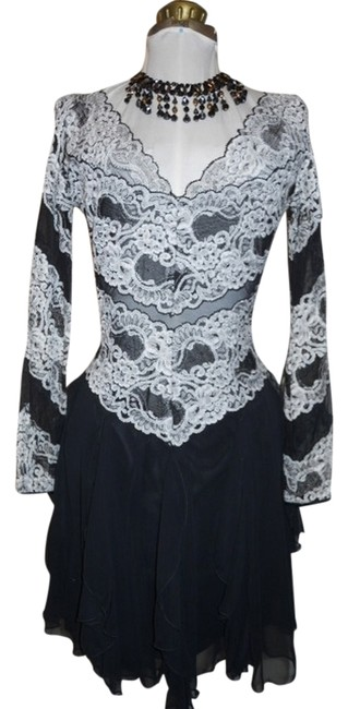 Preload https://item3.tradesy.com/images/cache-black-and-white-party-short-cocktail-dress-size-4-s-116487-0-0.jpg?width=400&height=650