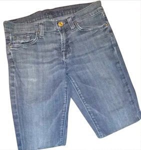 7 For All Mankind Roxanna Shorts Blue