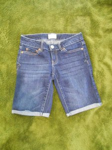 Aéropostale Denim Jean Cut Offs Cut-offs Cut Offs Bermuda Pants Blue Navy Pockets 0 25 26 27 Petite Juniors Small S Xs Shorts