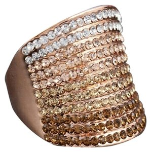 ombre gold bling ring size 7.5