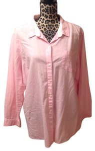 Old Navy Button Down Shirt Pink