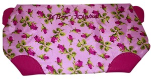 Betsey Johnson Pink/Rose Cosmetic Bag Wristlet