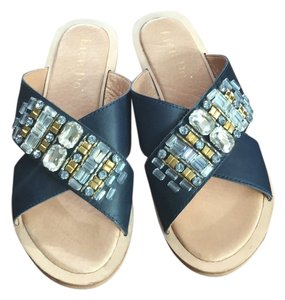Anthropologie navy Sandals