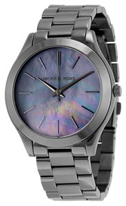 Michael Kors Mother of Pearl Dial Gunmetal Ladies Casual watch