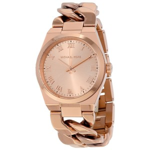 Michael Kors Rose Gold Chain Link Fashion Casual Ladies Watch