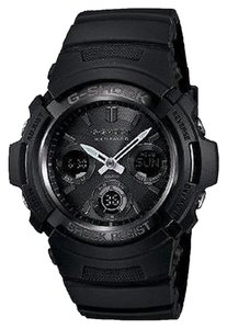 G-Shock G-Shock AWGM100B-1ACR Blackout Solar Atomic Watch