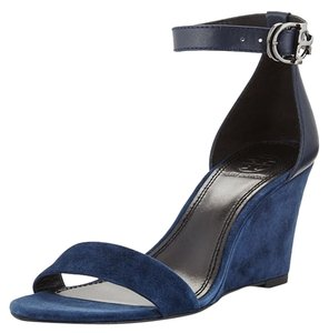 Tory Burch Wedge Suede bright navy Wedges