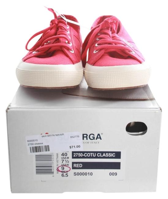 Item - Red Chassa Sneakers Size US 9 Regular (M, B)