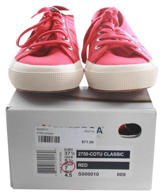 Item - Red Chassa Sneakers Size US 7 Regular (M, B)