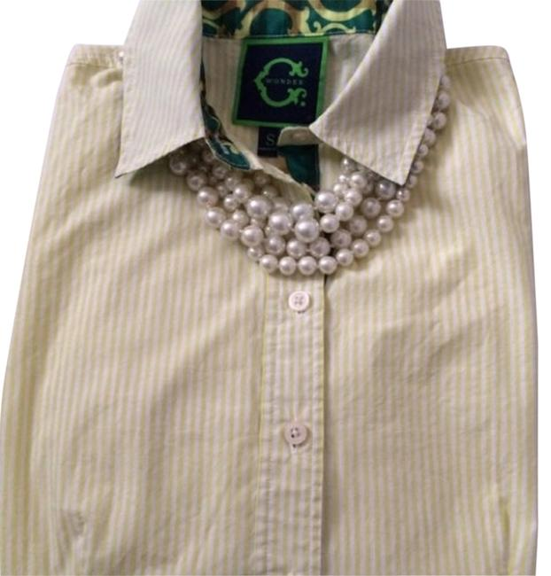 Preload https://item3.tradesy.com/images/c-wonder-excellent-condition-button-down-top-size-6-s-11654722-0-1.jpg?width=400&height=650