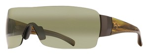 Maui Jim Maui Jim HT520-15 Honolulu Gunmetal/Green Lens Sunglasses