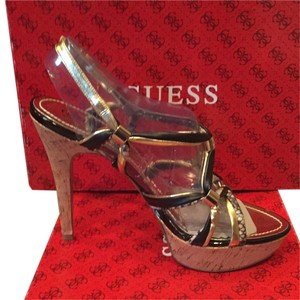 Guess By Marciano Platino Platforms