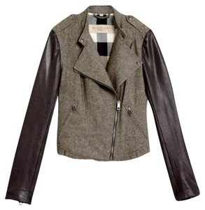 Burberry Moto Biker Motorcycle Jacket
