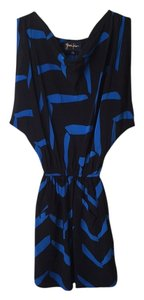 Yumi Kim short dress Black / blue on Tradesy