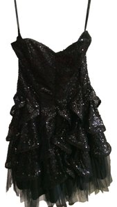 Betsey Johnson Sequin Ruffle Tulle Dress