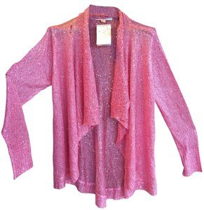 Boston Proper Sparkle Sequin Knit Cardigan