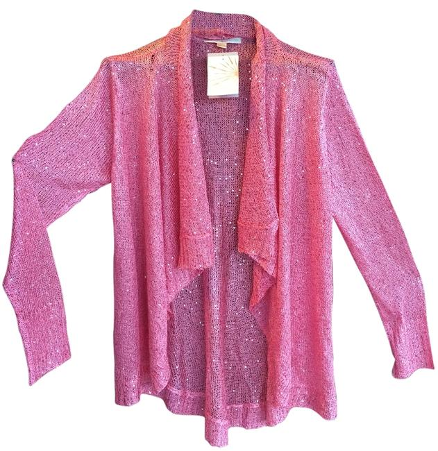 Preload https://img-static.tradesy.com/item/11656915/boston-proper-tropical-pink-sparkle-cardigan-size-16-xl-plus-0x-0-1-650-650.jpg