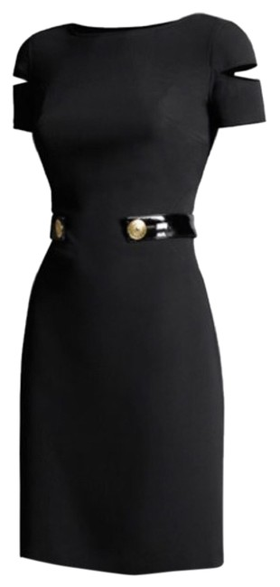 Item - Blac Mid-length Cocktail Dress Size 4 (S)