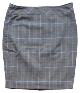 The Limited Skirt Brown Purple Plaid