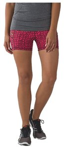 Lululemon Lululemon What the Sport Workout Shorts - Red - Size 6