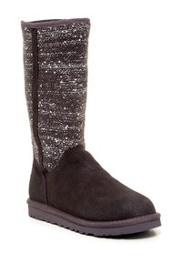 UGG Australia Boot Camaya Sequin Grey CHARCOAL Boots