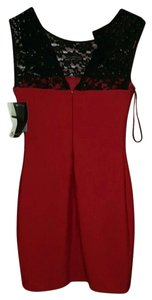 Red/Black Maxi Dress by JS Collections Red Black Modele Petite