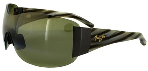 Maui Jim Maui Jim HT514-02 Men Kula Gunmetal/Green Lens Sunglasses
