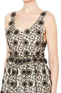 Jill Stuart Collection Black Lace Black And White Lace Collection Dress