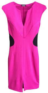 VENUS short dress Magenta Bodycon Front Slit on Tradesy