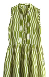 Other short dress lawn green Striped Striped on Tradesy