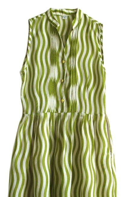 Other short dress lawn green Striped Striped on Tradesy Image 0